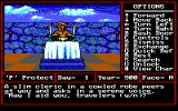 Might and Magic II: Gates to Another World DOS Visiting a temple for some healing