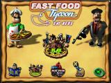 Fast Food Tycoon Windows The opening screen