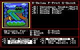 Might and Magic II: Gates to Another World DOS The good old fight screen, now with pictures!