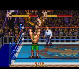 Saturday Night Slam Masters SNES Haggar from Final Fight