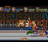 Saturday Night Slam Masters SNES Lots of action in the ring!