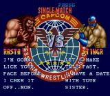 Saturday Night Slam Masters Genesis Before a fight