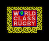 World Class Rugby ZX Spectrum Title screen