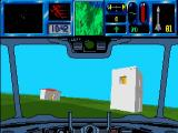 Flames of Freedom DOS Hovercraft driving