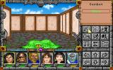 Might and Magic: World of Xeen DOS Combat with a slime