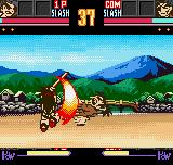 Samurai Shodown II Neo Geo Pocket Color Haohmaru's Kogetsuzan was used in time to intercept Jubei's counter-attack!