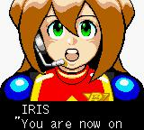 Mega Man Xtreme 2 Game Boy Color Cut-scene – Iris requests to X and Zero the current situation in Laguz Island.