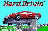 Hard Drivin' Lynx Title Screen