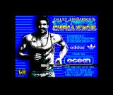 Daley Thompson's Olympic Challenge ZX Spectrum Loading screen