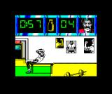 Daley Thompson's Olympic Challenge ZX Spectrum Now the bench-press