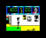 Daley Thompson's Olympic Challenge ZX Spectrum Sit-ups - Daley doesn't look black in this one