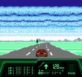 Rad Racer II NES Each track features a variety of turns