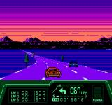 Rad Racer II NES Driving off into the sunset...