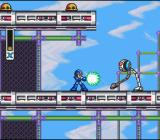 Mega Man X SNES Sky stage