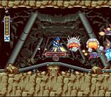 Mega Man X SNES Riding a mine cart