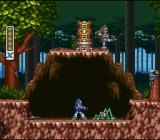 Mega Man X SNES Forest stage