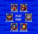 Mega Man: The Wily Wars Genesis Mega Man 1 stage selection