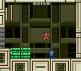 Mega Man: The Wily Wars Genesis Fighting against Cutman (Mega Man 1)