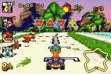 Crash Nitro Kart Game Boy Advance The race will start now: put the gas on maximum and good luck!