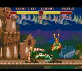 Super Street Fighter II SNES The famous and classic sweep.