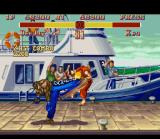 Super Street Fighter II SNES With his unique Jamaican style, Dee Jay does a 2-hit combo Double Dread Kick in Ken.