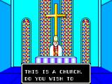 Phantasy Star SEGA Master System In a church