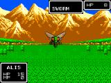 Phantasy Star SEGA Master System Check out the great mountain backgrounds
