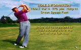 David Leadbetter's Greens DOS Hole information