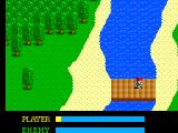 Ys: The Vanished Omens SEGA Master System Crossing a bridge