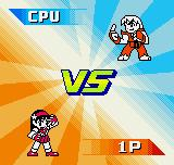 SNK vs. Capcom: The Match of the Millennium Neo Geo Pocket Color VS Screen (only in Single Modes).