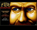 Fire and Brimstone Amiga Title