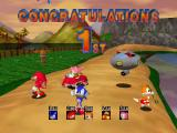 Sonic R Windows Sonic wins!