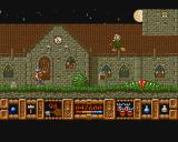 Fire and Brimstone Amiga Destroy the witches for a potion