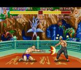 Super Street Fighter II SNES A fainted enemy: the best chance to do a combo or any other attack.