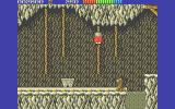 Impossamole Atari ST Climbing a rope so as to avoid the runaway mine cart