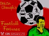 Brian Clough's Football Fortunes ZX Spectrum Loading Screen