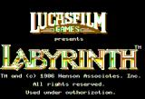 Labyrinth Apple II The Title