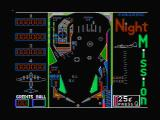Night Mission Pinball PC Booter CGA Composite mode