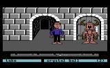 Labyrinth Commodore 64 The Stone Corridor.