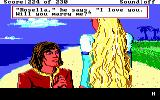 King's Quest IV: The Perils of Rosella DOS AGI: Edgar turns into a handsome prince and proposes to you