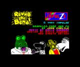 Round the Bend! ZX Spectrum Title screen
