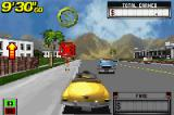 Crazy Taxi: Catch a Ride Game Boy Advance The search for customers has begun and somebody was located very fast!