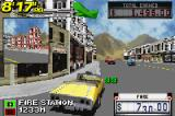 Crazy Taxi: Catch a Ride Game Boy Advance Going to the next destination.