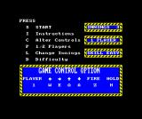 The Slugger ZX Spectrum Main menu