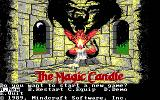 The Magic Candle: Volume 1 DOS Title screen