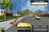 Crazy Taxi: Catch a Ride Game Boy Advance To pick up a passenger, stop the taxi close of it and he/she will come running.