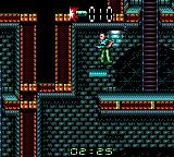 Alien³ Game Gear Riding a platform