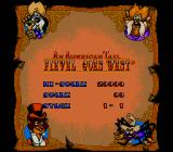 An American Tail: Fievel Goes West SNES High scores table