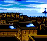 An American Tail: Fievel Goes West SNES Zooming on the city...
