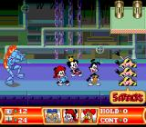 Animaniacs SNES Hmm, now what? Which lever to pull?